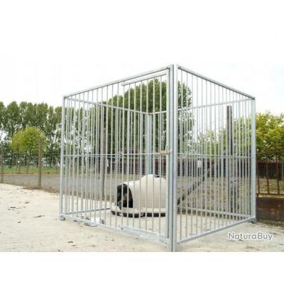Chenil parc 12m² enclos chien parc chien NEUF TOP QUALITE 13C