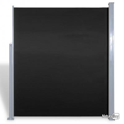Paravent Store vertical Patio Terrasse 180 x 300 cm Noir