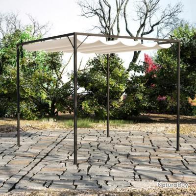 Chapiteau de jardin avec auvent rétractable