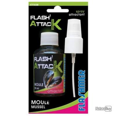 FLASHMER - ATTRACTANT FLASH ATTACK 5 PARFUMS MOULE