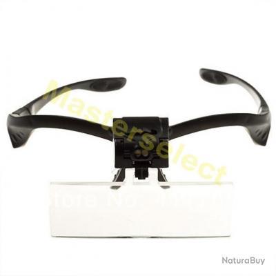 lunettes loupe de travaux minutieux avec bandeau pro puissante pour pr cision pas cher etaux. Black Bedroom Furniture Sets. Home Design Ideas
