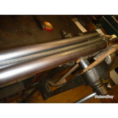 Bronzage des canons pour fusil ou carabine