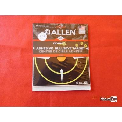 ALLEN objectif adhésifs    bullseye target 15cms EZAIM SLPASH