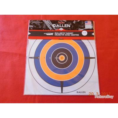 ALLEN 12  objectifs avec centre   30cmsX30cms