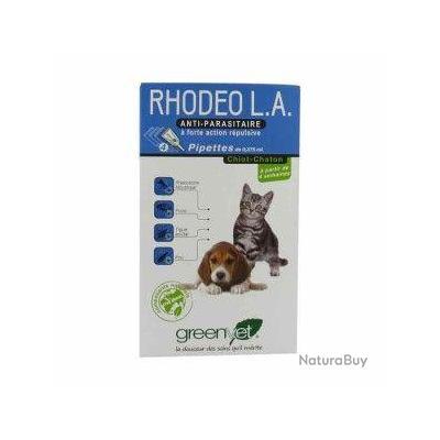 Rhodeo LA Chiot/Chaton x 4 pipettes
