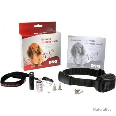 Collier anti-aboiement d-mute pour chien de marque Dog Trace (grands chiens)