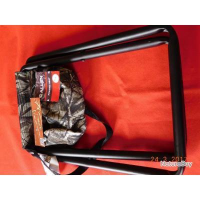 ALLEN, FOLDING SEAT, camo 112kg de résistance, idéal au poste en battue ou affût.