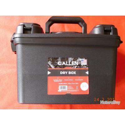 ALLEN DRY BOX, malette pour entretien d'arme de point,arme longue, chasse,  sans accessoire,