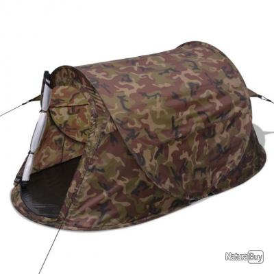 Tente pour 2 personnes Camouflage