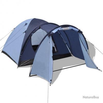 Tente pour 4 personnes Bleu