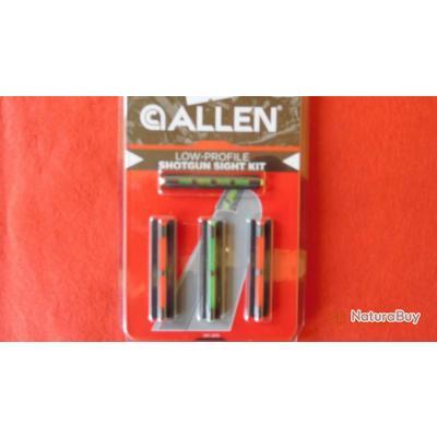 ALLEN LOW PROFILE kit de 4 guidons,