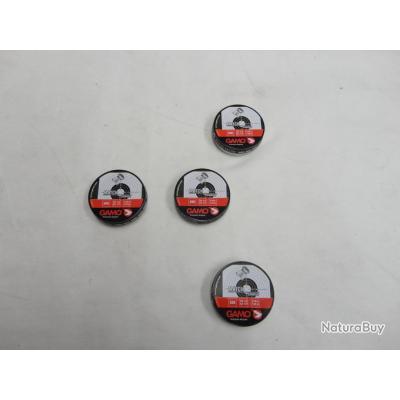 AXEL N2972- 4 BOITES DE 500 PLOMBS CAL. 4,5 PLAT GAMO MATCH DIABOLO- NEUF- PROMO!!!!!!!
