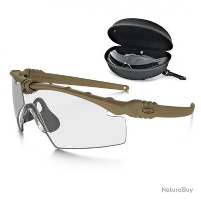 lunette balistique oakley m frame 3 0 neuf sable 2 ecran lunette de protection. Black Bedroom Furniture Sets. Home Design Ideas