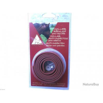 collier anti parasites pour chevaux r pul 39 7 puces tiques moustiques 4x1 rep33 anti. Black Bedroom Furniture Sets. Home Design Ideas