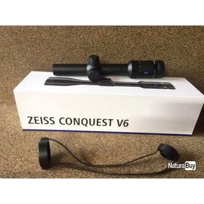 ZEISS CONQUEST V6 1.1-6X24 MM - RET 60 IL - DIA 30, NEW , Arrivage!!!
