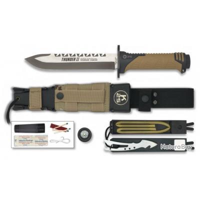 Trousse de coutellerie de démarrage de 4 couteaux et 1 fusil Grand Prix Wsw1RIY