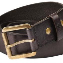 4b29445f958c Ceinturon cuir de buffle 40mm marron - Ceintures et ceinturons de ...