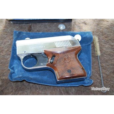 pistolet  rÖhm rg3 chrome manufrance