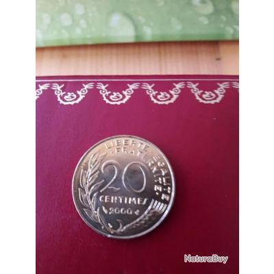 20 centimes 2000 non  circulée