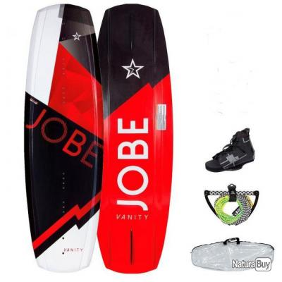 PACK WAKEBOARD 141 AVEC CHAUSSES JOBE Vanity Star - alciumpeche