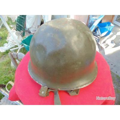 casque para parachutiste FR mod TAP 56 troupes aéroportées daté 1961 guerre Algérie RCP Légion