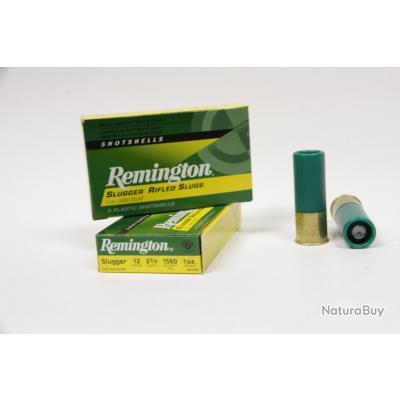 2 Boites de Balles Slug Calibre 12/70 Remington