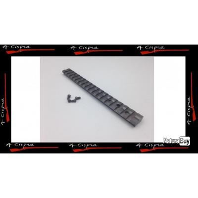 Rail Acier picatinny pour carabine Merkel SR1