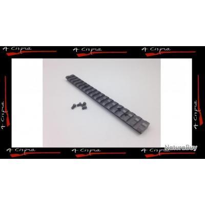Rail Acier picatinny long pour carabine Winchester SXR