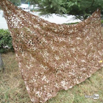 Filet camouflage militaire modele DESERT 1,5m x 4m