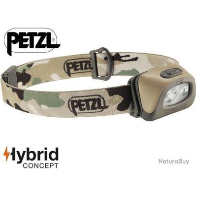 Lampe frontale Petzl TACTIKKA + RGB hybride camouflage