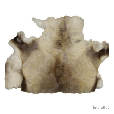 1/2 peau de renne entière