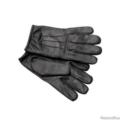taille xxl gants intervention anti coupure kevlar cut leather cuir noir gants tactiques et. Black Bedroom Furniture Sets. Home Design Ideas