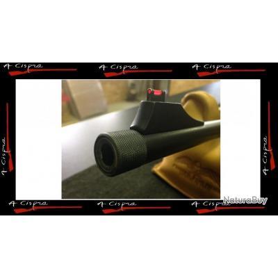 Filetage de bouche de canon en 18x100 avec bague de protection  pour armes de catégorie C&D