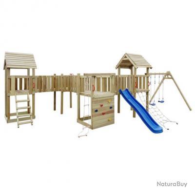 ensemble d 39 aire de jeux avec toboggan chelles et. Black Bedroom Furniture Sets. Home Design Ideas