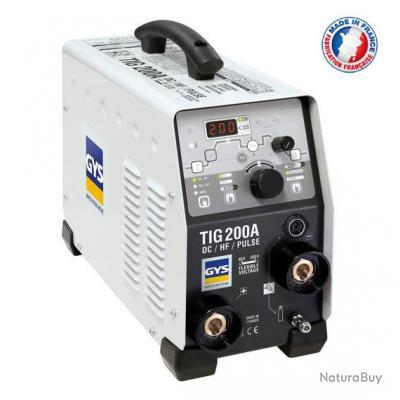 Gys - Poste de soudure Inverter TIG DC 230V 200A - TIG 200 DC HF FV