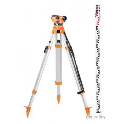 Geo Fennel - Niveau optique de chantier 400 gon grossissement 32x - N 32 SET c96170550bcf