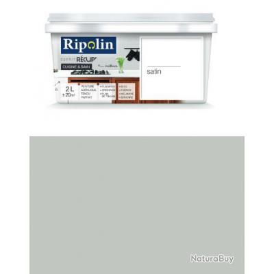 Ripolin peinture esprit r cup cuisine et bain satin - Peinture pour melamine et stratifiee ...