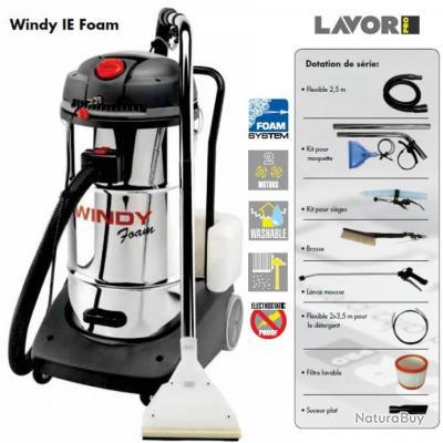 lavor pro aspirateur injecteur extracteur 2400w max 130l s windy ie foam aspirateurs. Black Bedroom Furniture Sets. Home Design Ideas
