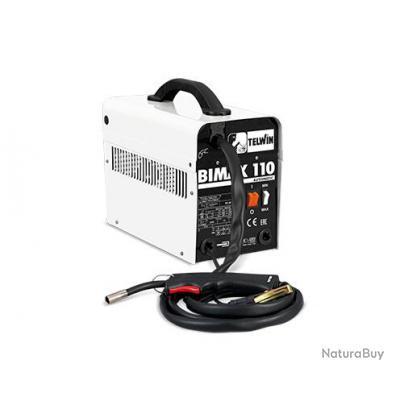 Telwin - Poste à souder portable MIG-MAG 2,5kW 27V - BIMAX 110 AUTOMATIC 230V