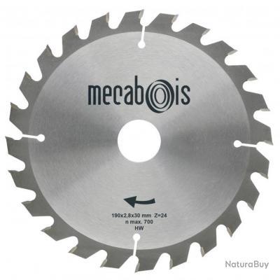 Mecabois - Lame de scie circulaire au carbure Silergie -180X2.4X20 - 24 DENTS