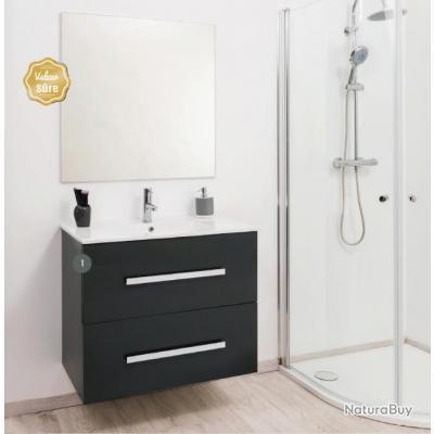 aqua meuble salle de bain gris anthracite suspendre. Black Bedroom Furniture Sets. Home Design Ideas