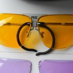 lunettes de protection randolph xlw avec insert pour correction de vue accessoires lunettes. Black Bedroom Furniture Sets. Home Design Ideas