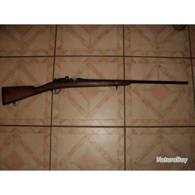 Beau fusil gras pur non modifié 80 transformé en chasse calibre 20