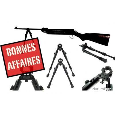 bipied tout arme pour canon 11 à 19 mm