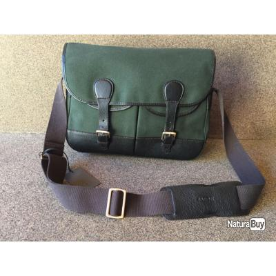 SACOCHE MUSETTE BANDOULIERE  COUNTRY GREEN CANVAS BARON, OFFRE SPECIALE FETE DES PERES !!!