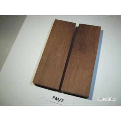 1 jeu de 2 plaquettes de palissandre de madagascar bois et mat riaux coutellerie le h ron pm 07. Black Bedroom Furniture Sets. Home Design Ideas