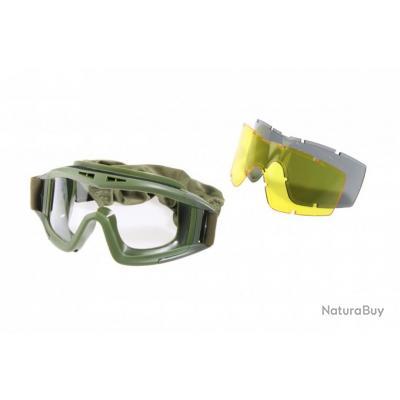 d3d38420b18b5a Masque de protection 3 ecrans OD - Masques Airsoft (3964658)