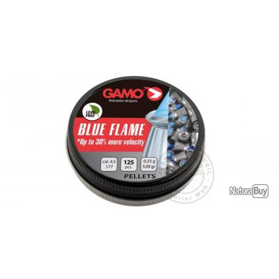 Plombs GAMO Blue Flame 4,5 mm / 125 pour carabine