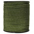 Corde en rouleau 5 mm -   60 mètres  -    couleur noir  -  319434