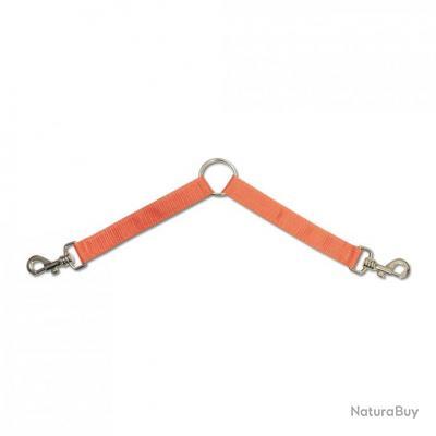 Doubleur chiens orange